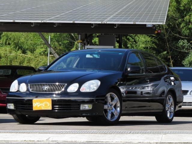 トヨタ S300 ローダウン・黒革・レグノ装着・ETC