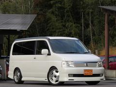 ステップワゴンD 電動スライド・サンルーフ・moduloエアロ・ローダウン