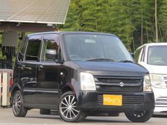 ワゴンRFX 4WD HID・LED・社外オーディオ・アルミホイール
