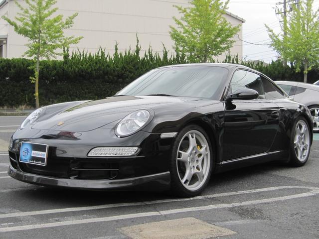 ポルシェ 911カレラS カーボンブレーキ カーボンスポイラー カーボンヘッドライトリング フルセグTV バックカメラ