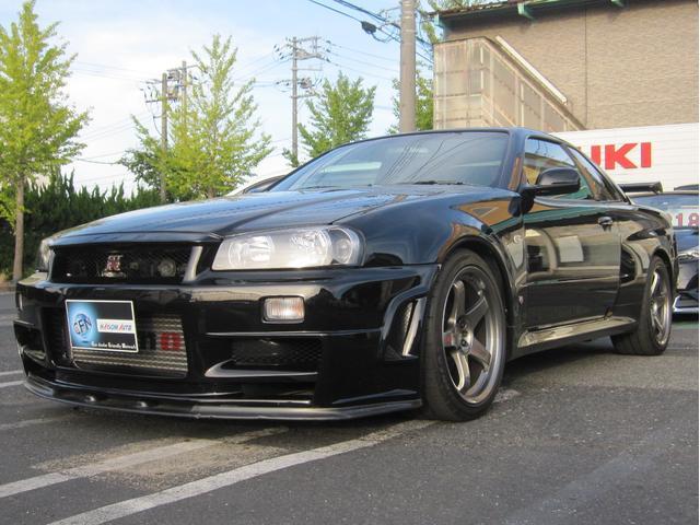 スカイライン(日産) GT−R VスペックII 4WD ワンオーナ nismoパーツ純正保管 ナビ 中古車画像