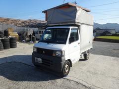 ミニキャブトラックパネルバン幌 エアコン パワステ 5MT 軽配送車