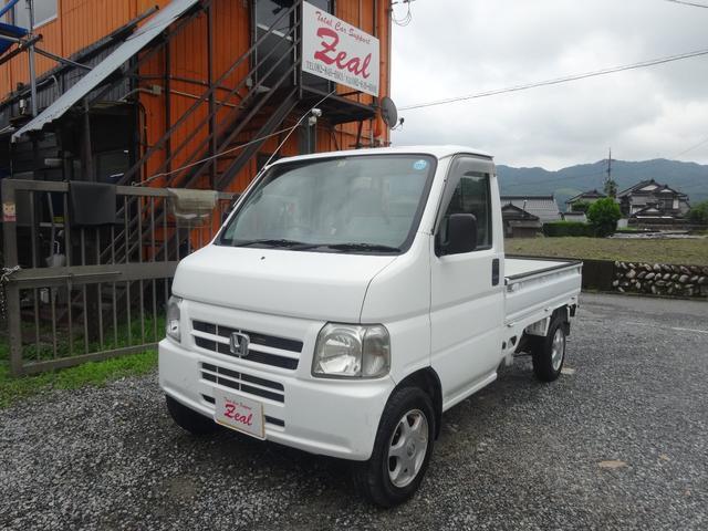 ホンダ アクティトラック DX/4WD/5MT/アルミ/パワステ/エアコン/荷台ライト