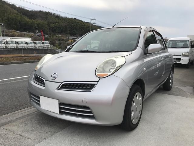 日産 EAT スマートキー オーディオ付 コンパクトカー シルバー