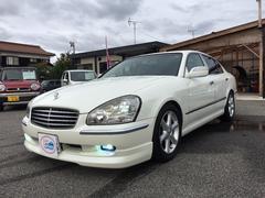 シーマ450XV 革・マルチ・サンルーフ・ローダウン・バルカン