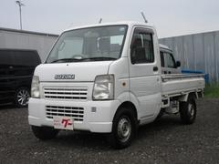 キャリイトラックKU 4WD 5MT エアコン パワステ CD