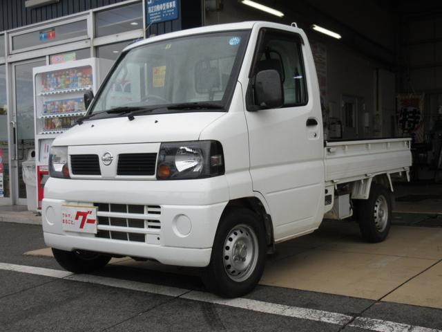 日産 ベースグレード 4WD 5MT パワステ エアコン