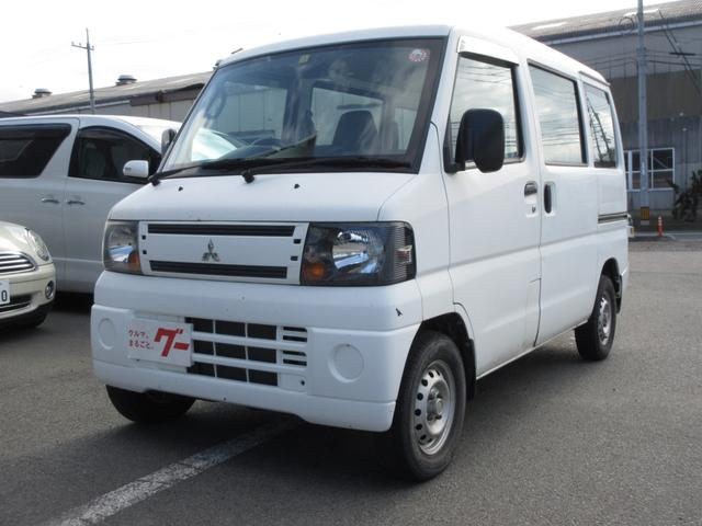 三菱 ミニキャブバン CD 4WD オートマ車 Wエアバッグ エアコン パワステ ラジオ