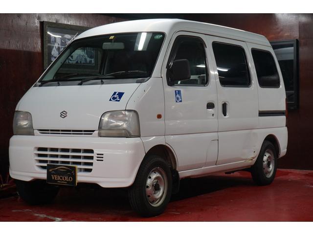 スズキ PA 車いす移動車 電動リフト 4WD AT