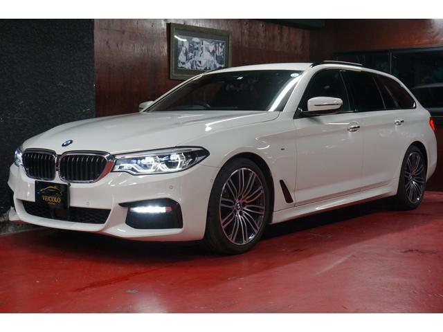 BMW 5シリーズ 523dツーリング Mスポーツ 今月限り!!在庫転売前最終価格!早い者勝ち!お問い合わせはお早めに!デビューパッケージ 衝突軽減ブレーキ 360°カメラ 前後シートヒーター アクティブクルーズコントロール 本革シート