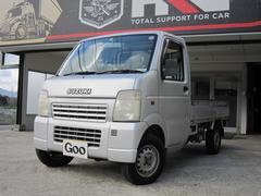 キャリイトラックKCエアコン・パワステ 切替式4WD 荷台板張り仕様 5MT