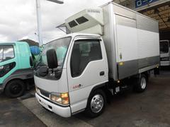 エルフトラック2t冷蔵冷凍車 リアシャッター式 スタンバイ付