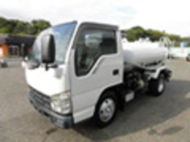 いすゞ 2t積載 散水車 タンク容量2000kg 総水量900L/min総揚程28m H19年式 2万6千キロ