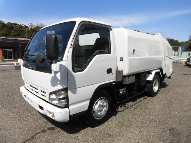 いすゞ 3.5t積載 ワイド 巻き込みパッカー6.0m3 H18年式 LPガス車 25万5千キロ ターボ付