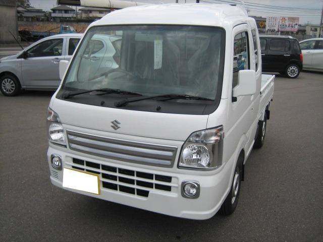 スズキ X 4WD キーレスキー 届出済未使用車 軽トラック