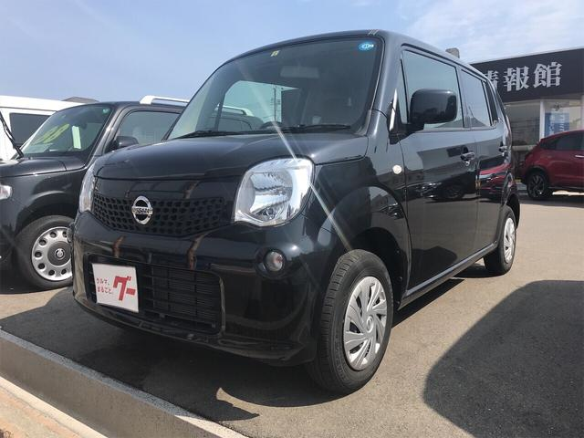 日産 S 軽自動車 ETC ブラック 車検整備付 CVT AC