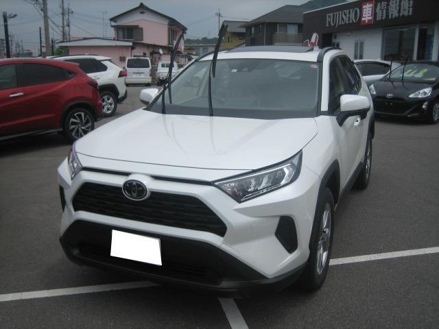 トヨタ X 2WDセ-フティセンスサンルーフ 届出済未使用車