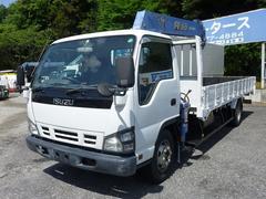エルフトラック2.55tワイド超ロング スムーサー タダノ6段フックイン