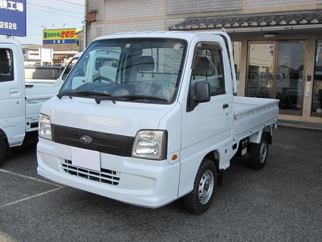 スバル TB 4WD 5速MT エアコン パワステ 軽トラック
