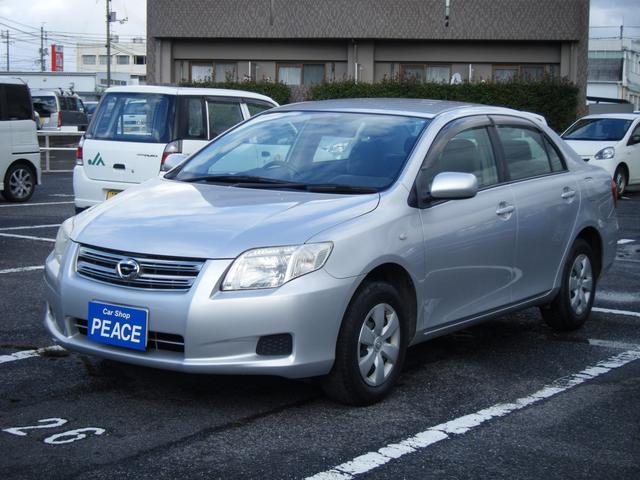 トヨタ X ビジネスパッケージ ワンオーナー車 純正オーディオ