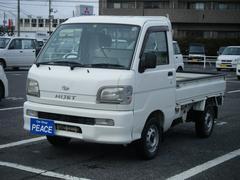 ハイゼットトラックスペシャル 4WD 三方開 エアコン パワステ 荷台マット