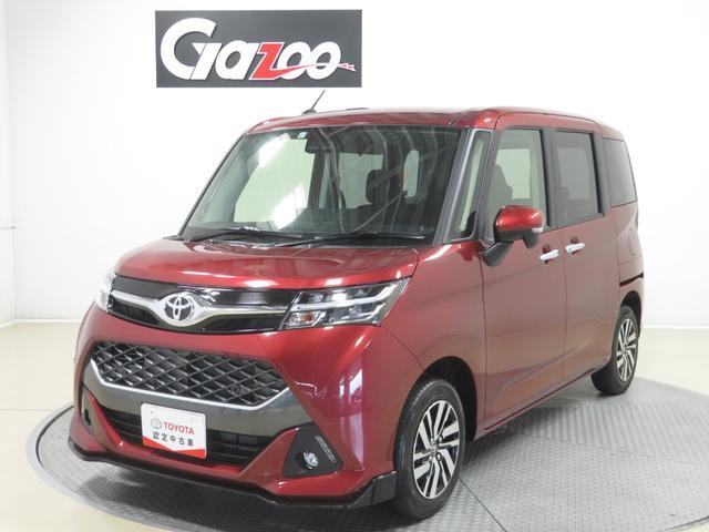 トヨタ タンク カスタムG 試乗車アップ ナビ Bカメラ LEDヘッドライト