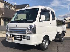 キャリイトラック4WD AC MT 軽トラック 2名乗り ホワイト 記録簿