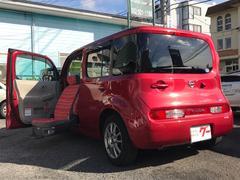 キューブ15XVセレクション 助手席電動スライドアップシート 福祉車