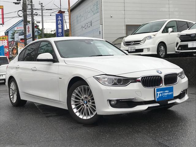 BMW 3シリーズ 320iラグジュアリー 純正ナビ バックカメラ ETC AW