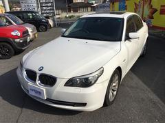 BMW530i ナビ 17インチAW 革シート CD MD BT