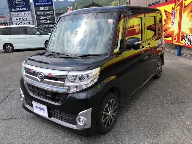ダイハツ カスタムX トップエディションSAII ナビ 軽自動車