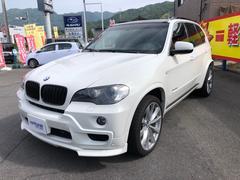 BMW X54.8i 4WD サンルーフ バックカメラ 革シート AW