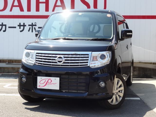日産 ドルチェX・14アルミ・ナビTV・ETC・専用合皮シート