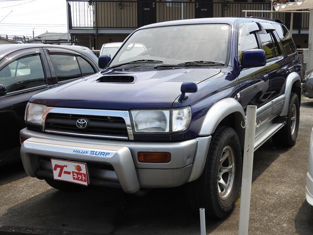トヨタ SSR-G インタークーラーターボ ワイド4WD サンルーフ