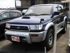 ハイラックスサーフSSR−G インタークーラーターボ ワイド4WD サンルーフ