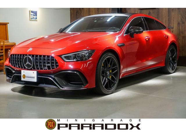 メルセデスAMG GT 4ドアクーペ 63 S 4マチック+ AMGパフォーマンスパッケージ.AMGカーボンパッケージ・Burmesterハイエンド3Dオーディオ.サンルーフ.フルラッピング.フルタイム4WD.