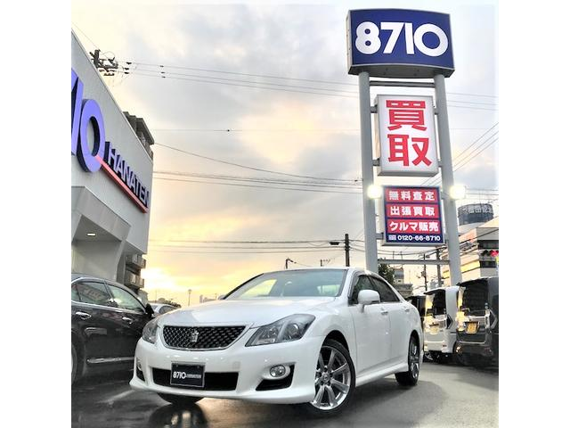 トヨタ 2.5アスリート 純正エアロ HDDナビTV Bモニター