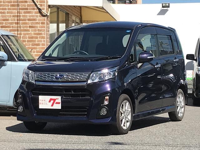 スバル 660 カスタムR ナビ TV 軽自動車 4WD CVT