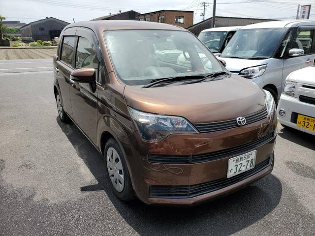 トヨタ スペイド Y ストラーダナビ 地デジ Bluetooth 左パワスラ