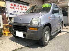 Z軽自動車 4WD フロア4AT エアコン 4人乗り CD