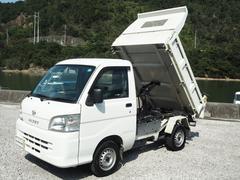 ハイゼットトラック4WD油圧ダンプ3方開エアコンパワステ