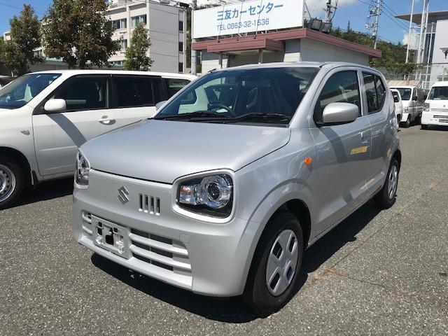 「スズキ」「アルト」「軽自動車」「岡山県」の中古車