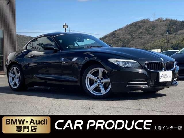 BMW sDrive23i オープンカー・純正ナビ・バックカメラ・フロントカメラ・ミラー型ETC・パワーシート・シートメモリー・オートライト・オートワイパー・電子パーキングブレーキ・パドルシフト