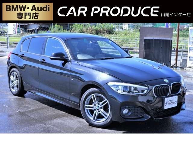 BMW 1シリーズ 118i Mスポーツ 純正ナビ・バックカメラ・ミラー型ETC・Mスポーツ専用ステアリング・Bluetooth接続・オートライト・オートエアコン・Mスポーツ専用シート・レーンアシスト・電子シフト