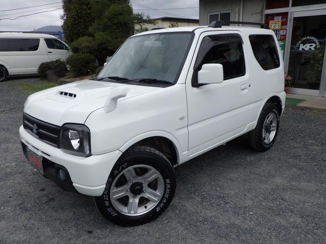 ジムニー(スズキ) XC AT キーレス 4WD ドライブレコーダー ETC 修復歴無し 中古車画像