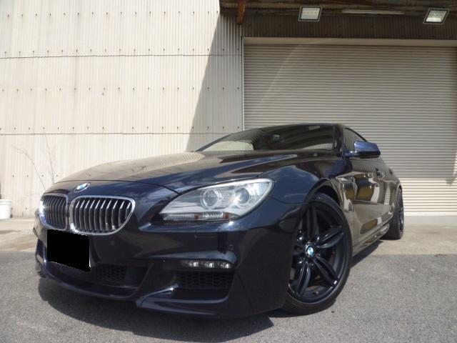 BMW 6シリーズ 640iグランクーペ Mスポーツパッケージ ローダウン ナビ