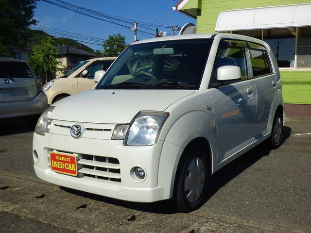 マツダ X キーレス CD 保証付 軽自動車 車検整備付(2年)