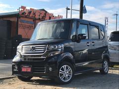 N−BOXカスタムG・Lパッケージ ナビ 軽自動車 クリスタルブラックパール