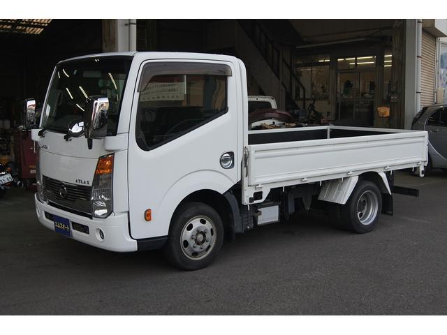 日産 アトラストラック  カスタム 1.5t3000ディーゼルターボ ETC リヤWタイヤ HID 4ナンバー