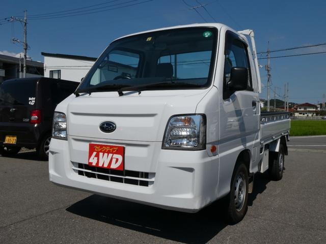 スバル サンバートラック TC プロフェッショナル 4WD・エアコン・パワステ・パワーウインド・キーレス・34000km